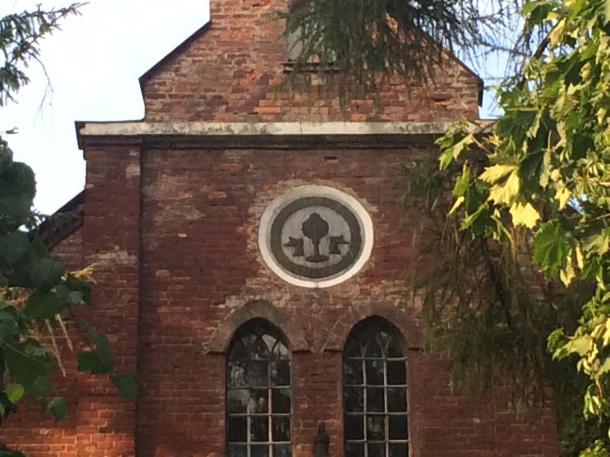 mariawicki emblemat na kościele w Lublinie