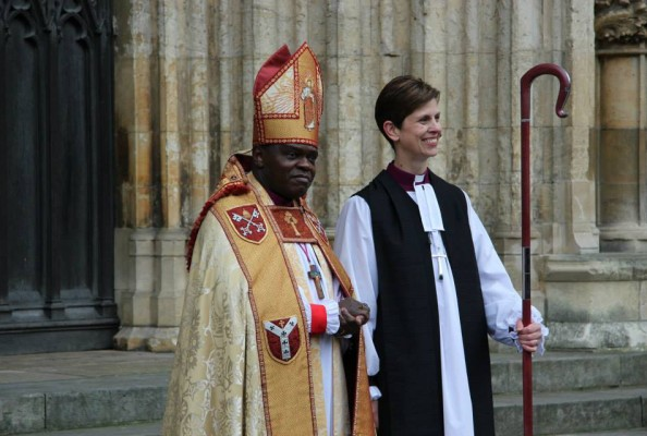 Abp John Sentamu i bp Libby Lane