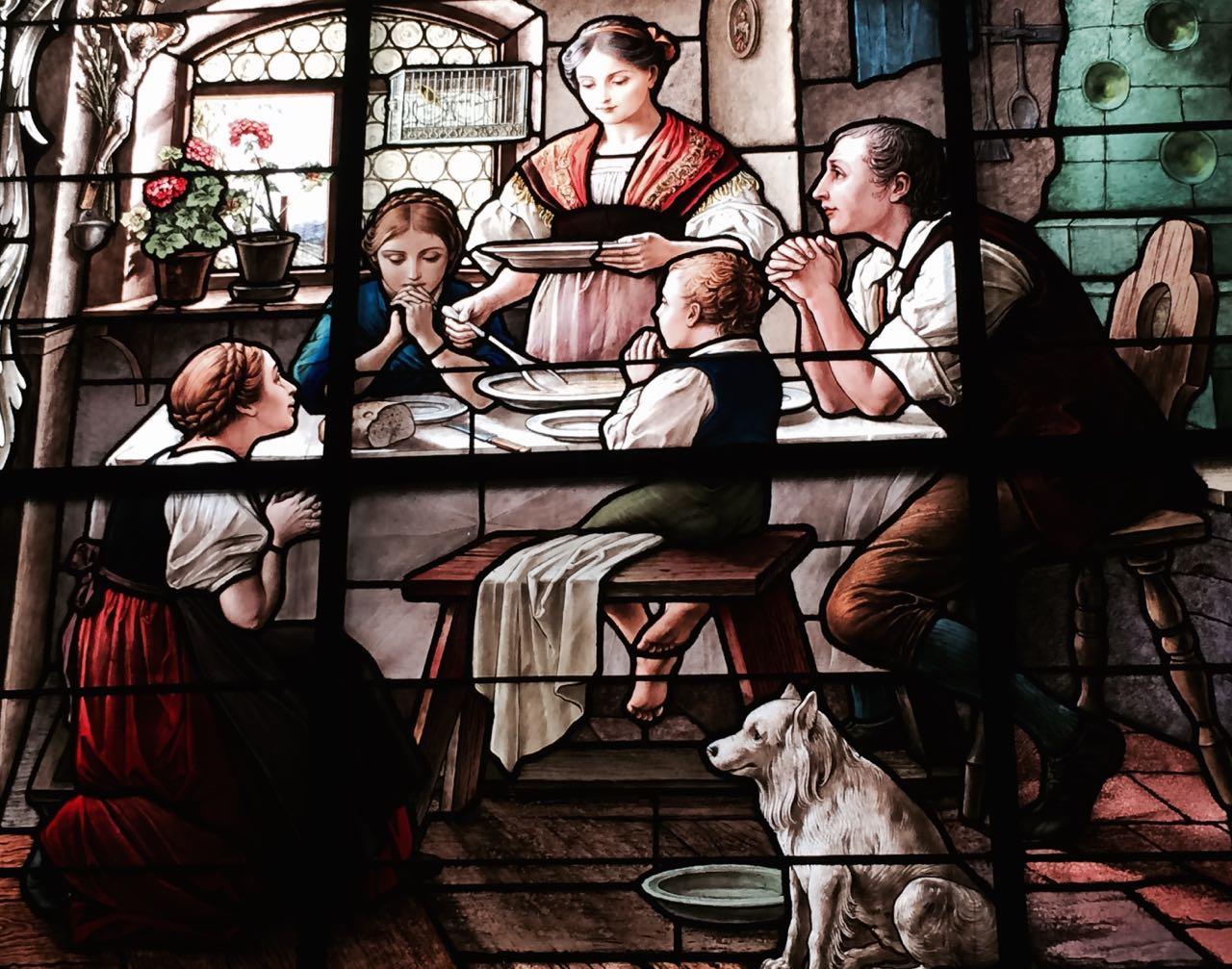 idealna chrześcijańska rodzina