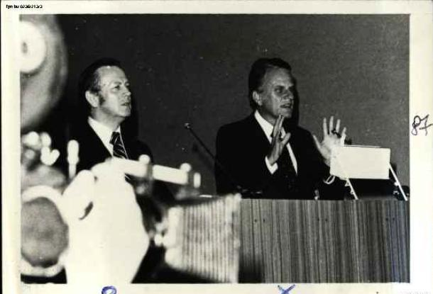 Billy Graham w Polsce