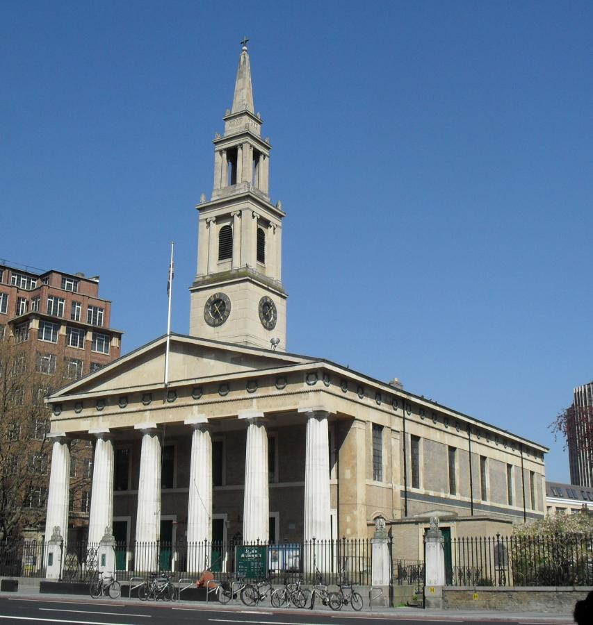 kościół św. Jana i Andrzeja w Londynie (Waterloo)