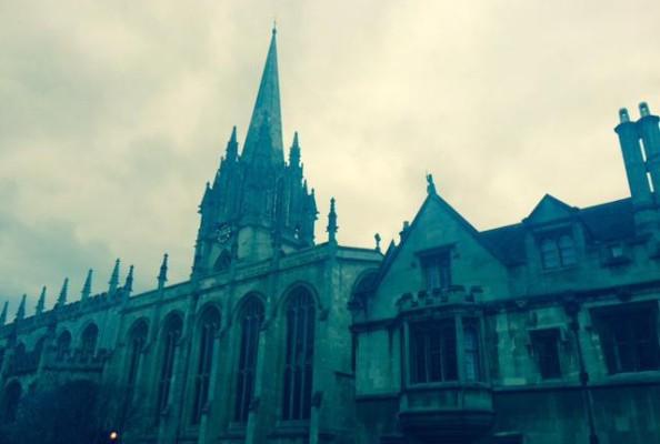 kościół Marii Panny w Oksfordzie