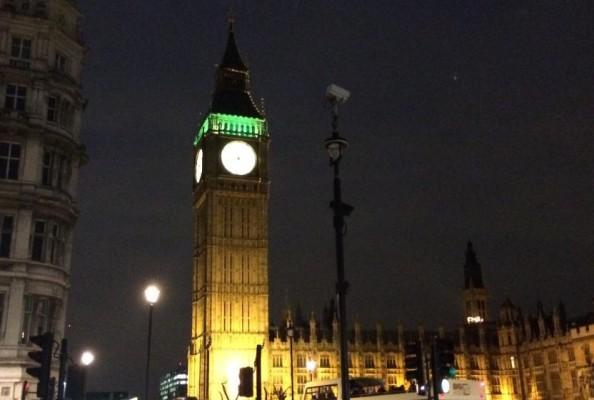 Siedziba brytyjskiego parlamentu