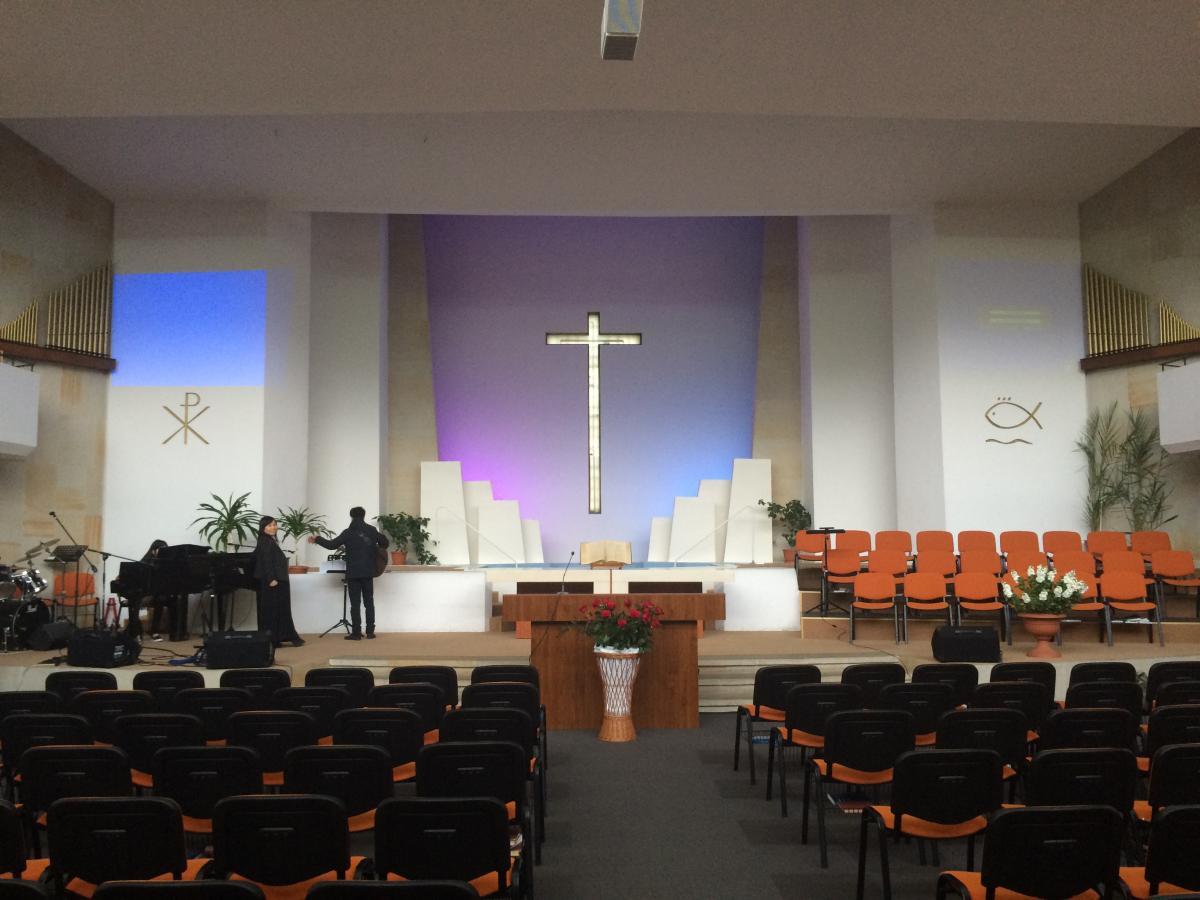 kaplica I Zboru Kościoła Chrześcijan Baptystów w Warszawie