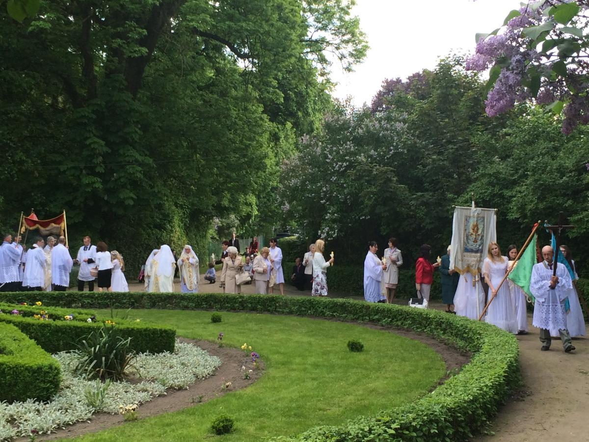procesja w Felicjanowie