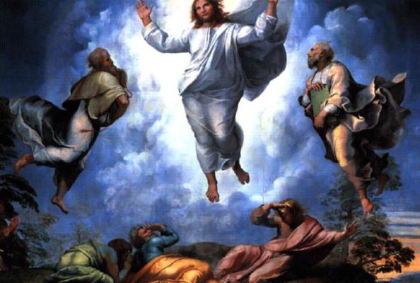 Obraz Przemienienia Pańskiego - malarz: Rafael
