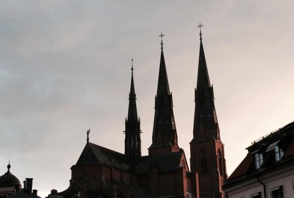 luterańska katedra w Uppsali