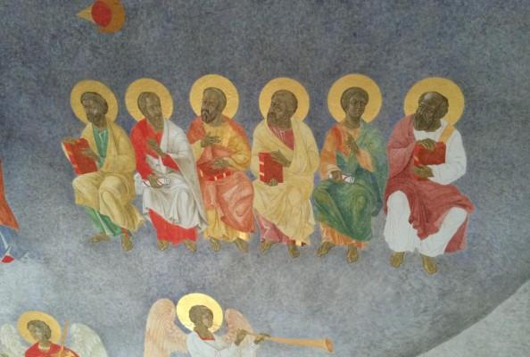 fresk z katedry grekokatolickiej w Przemyślu