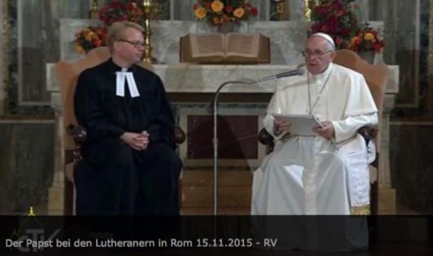 papież u rzymskich luteranów