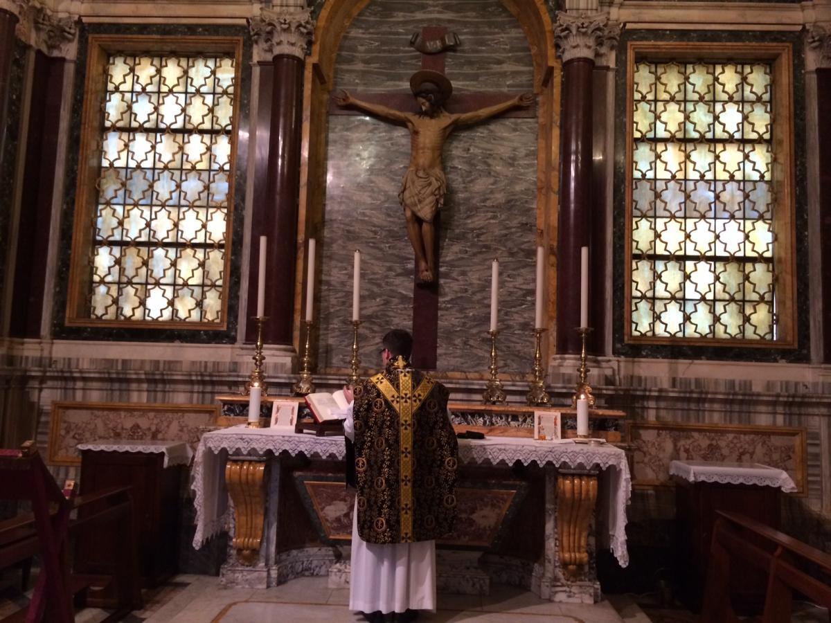 msza w rycie rzymskim