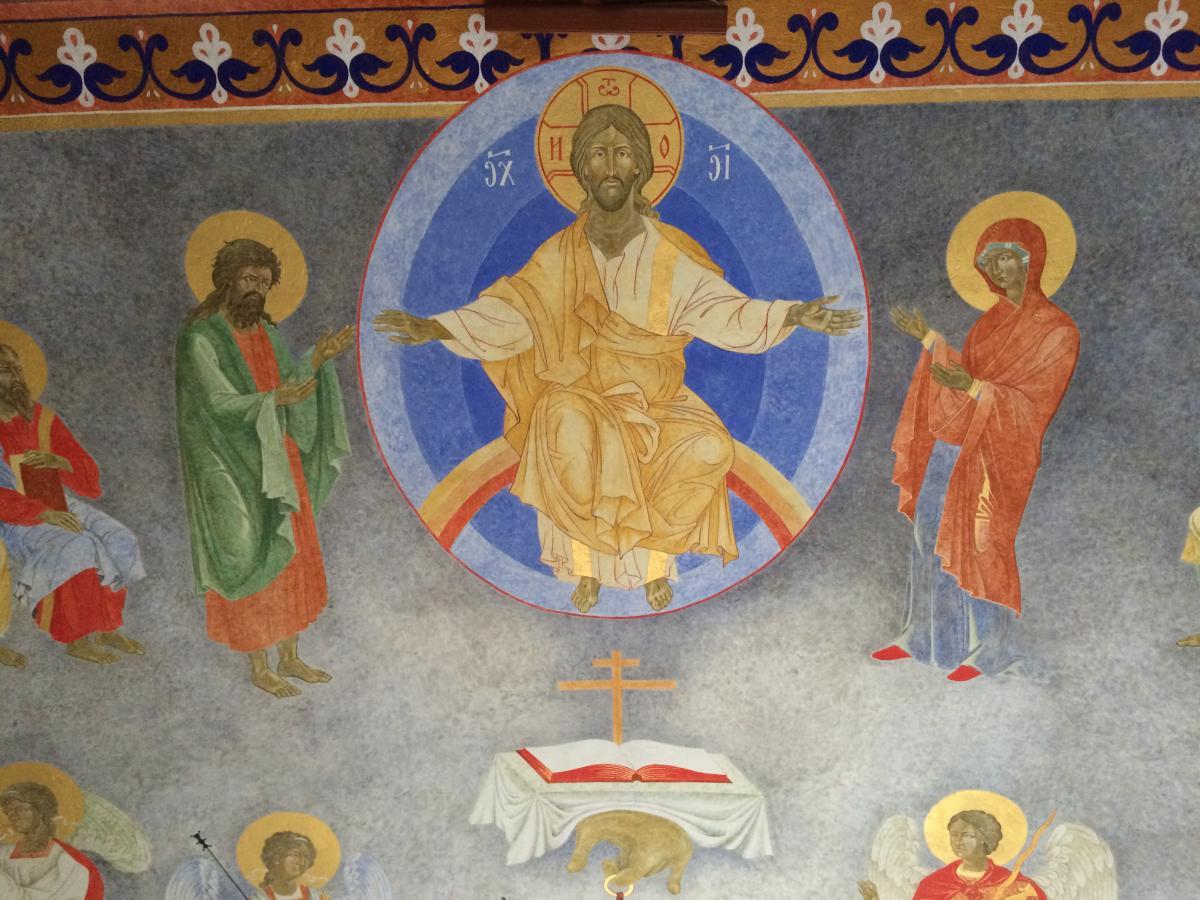 fresk w katedrze grekokatolickiej w Przemyślu