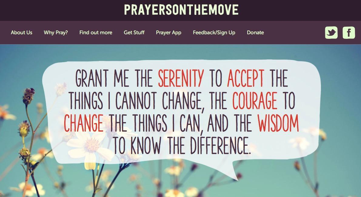 #prayersonthemove