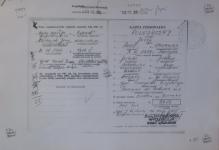 karta rejestracyjna TW Edwarda