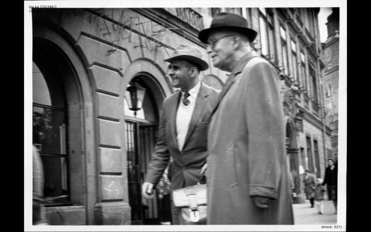 Józef Prower i br. Thomson