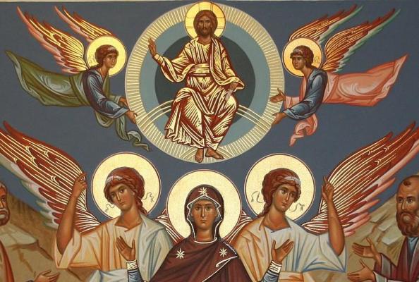 ikona Wniebowstąpienia Pańskiego