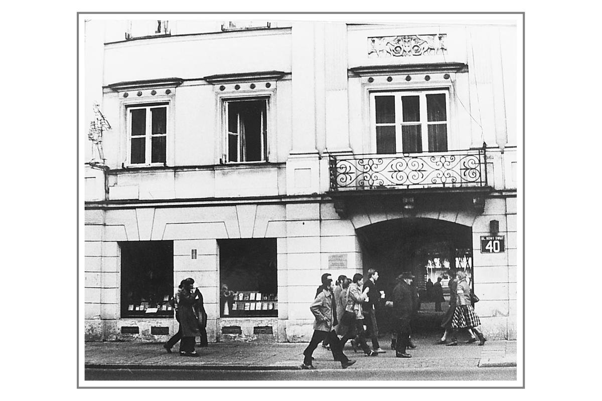 dawna siedziba Towarzystwa Biblijnego w Polsce przy Nowym Świecie
