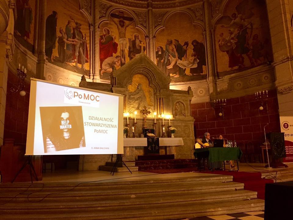 spotkanie z s. Anną Bałchan w  luterańskim kościele św. Mateusza w Łodzi