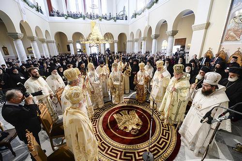 liturgia podczas panprawosławnego soboru