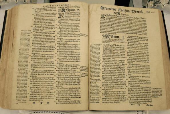 Biblia Brzeska z 1563 r.
