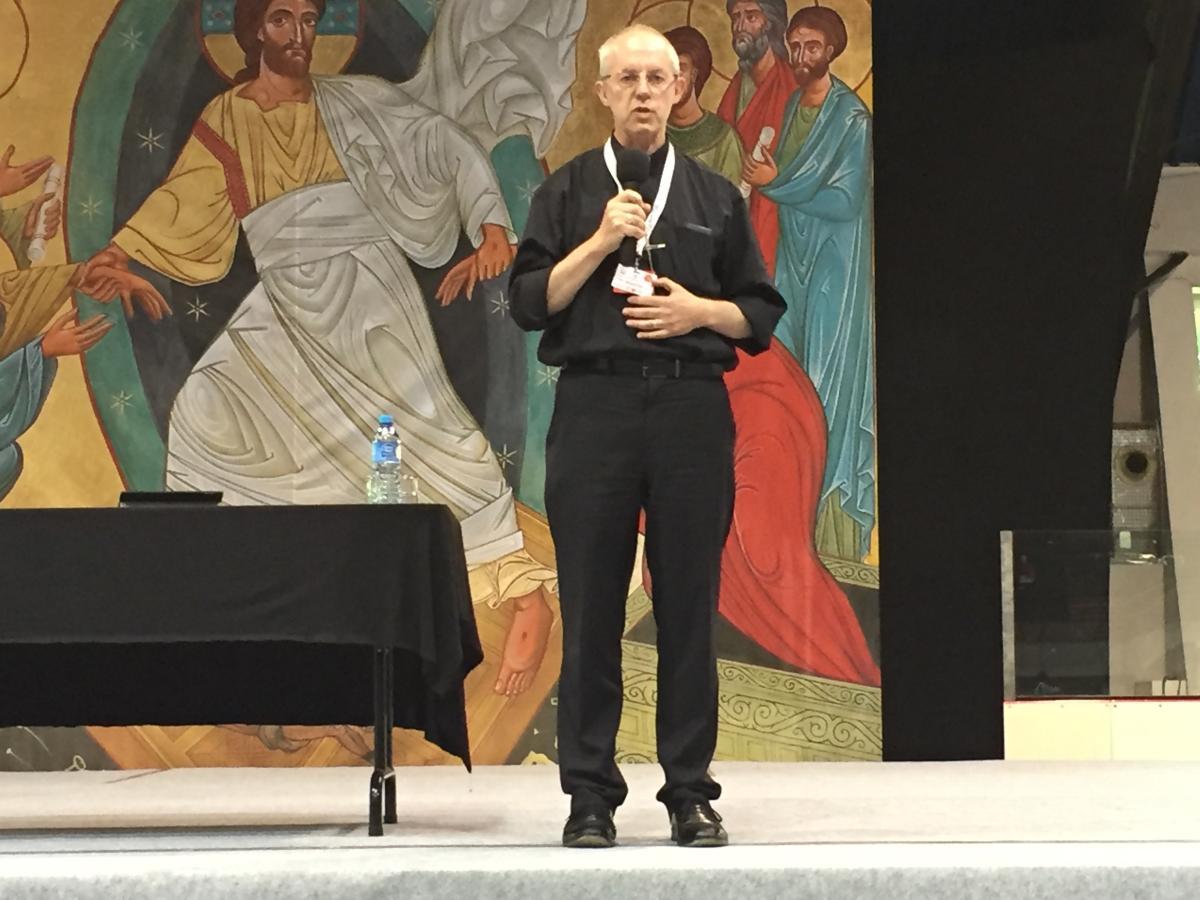 Arcybiskup Canterbury Justin Welby w Łodzi