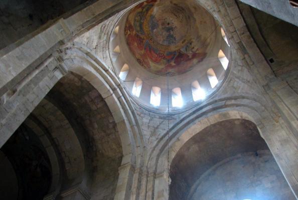 kopuła cerkwi w Tbilisi