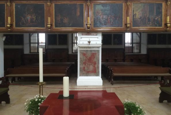 kościół luterański św. Anny w Augsburgu, gdzie w 1999 roku podpisano Wspólną Deklarację o Usprawiedliwieniu