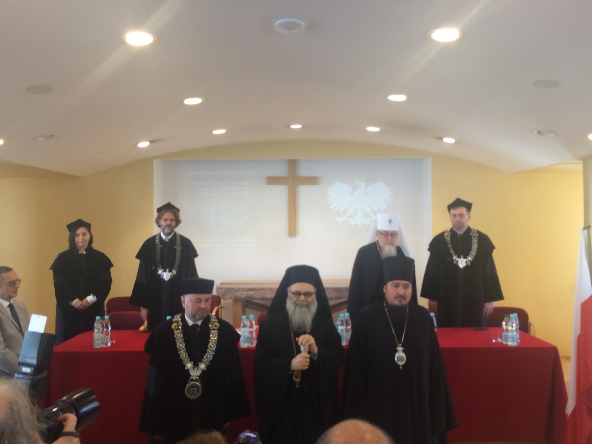 doktorat honoris causa ChAT dla Patriarchy Antiochii