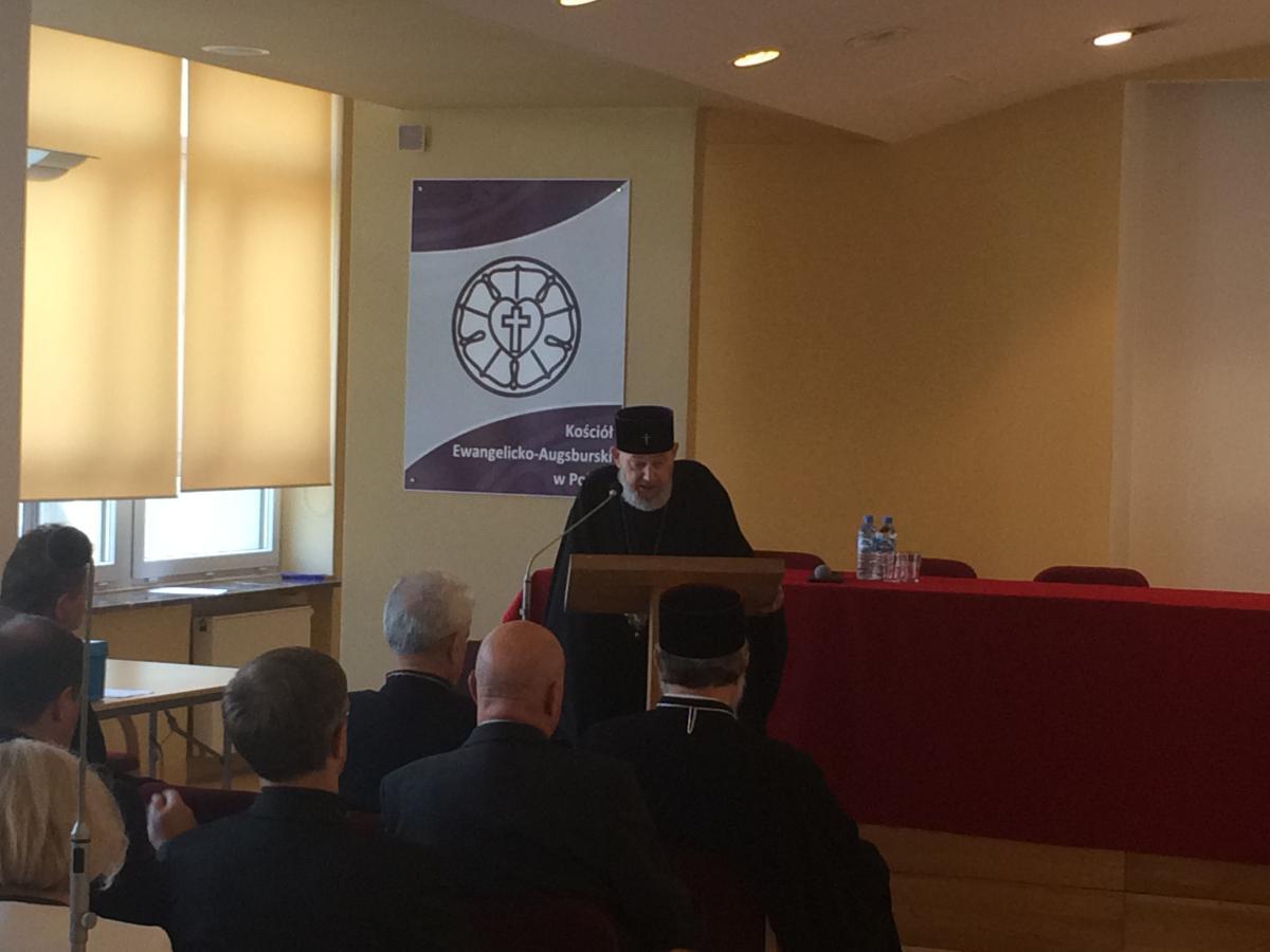 przemówienie odchodzącego prezesa PRE, abpa Jeremiasza