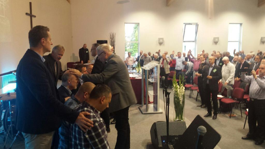 wprowadzenie w urzad nowej NRK Kościoła Zielonoświątkowego