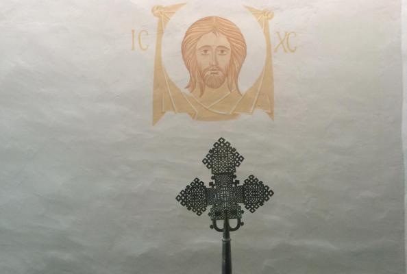kaplica w siedzibie Kościoła Szwecji w Uppsali