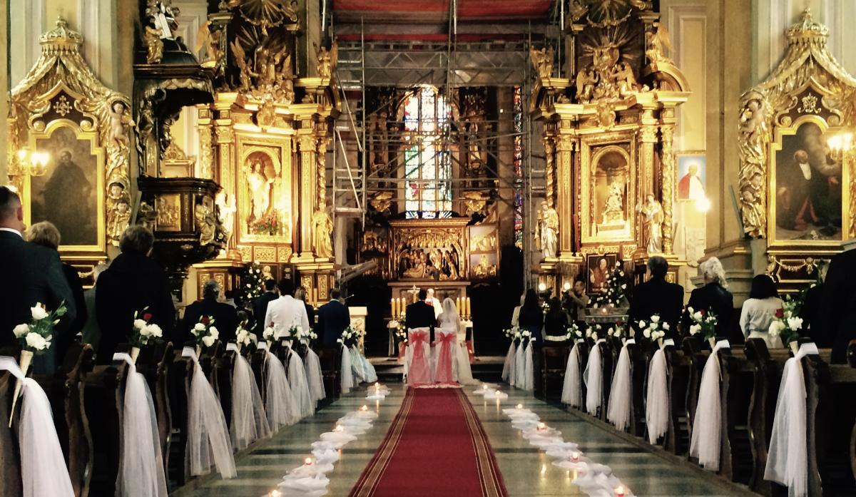 ślub w przemyskiej katedrze (2015)