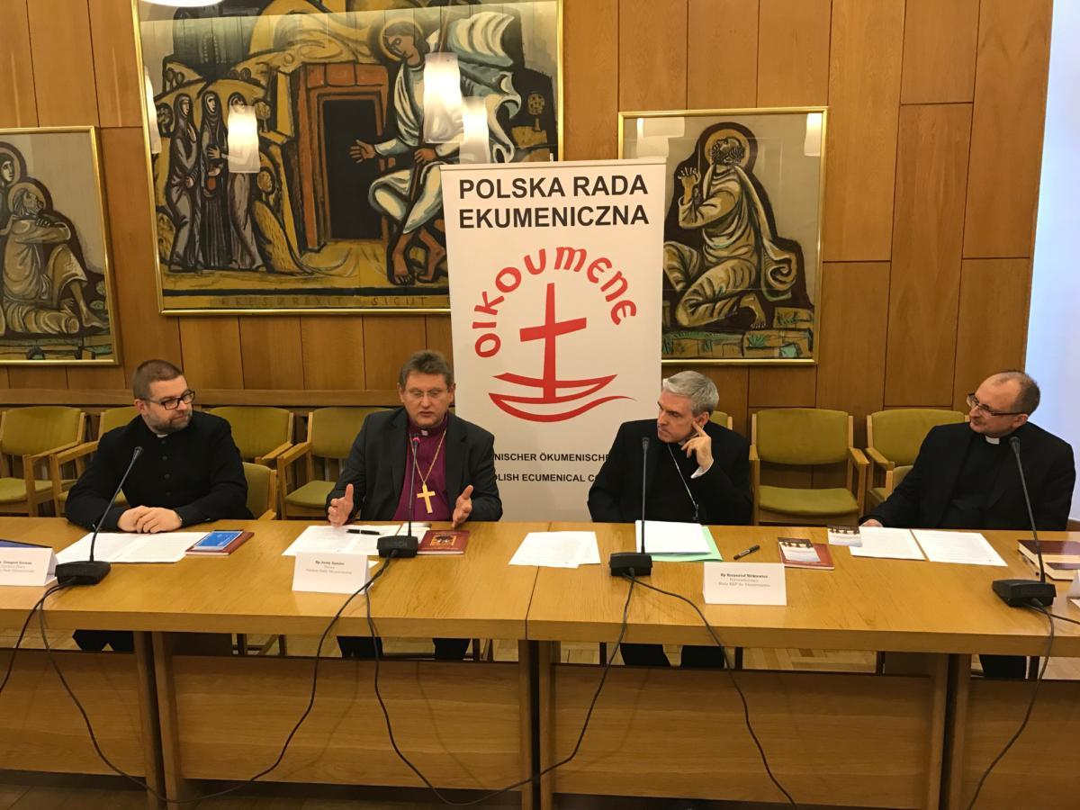 konferencja przed Tygodniem Modlitw o Jedność Chrześcijan