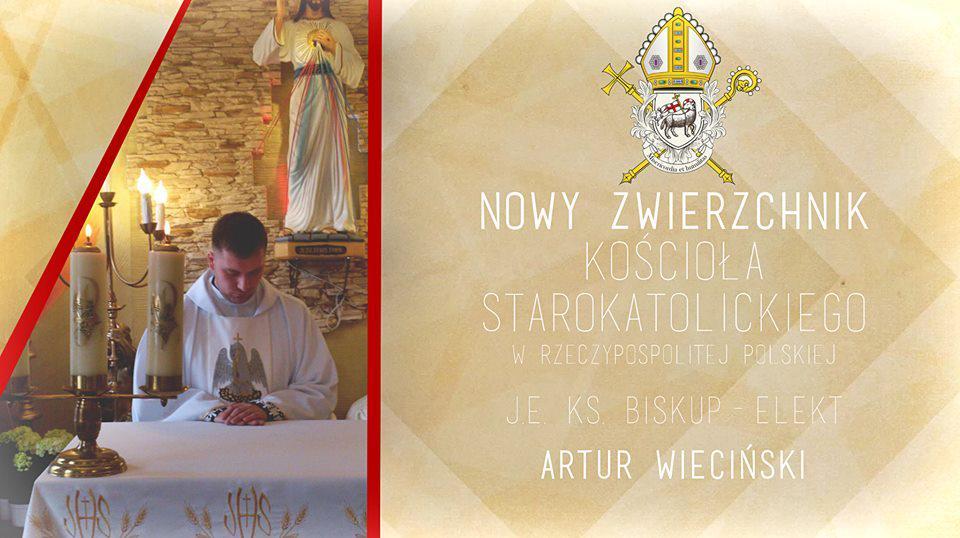 ks. Artur Wieciński nowym zwierzchnikiem Kościoła Starokatolickiego w RP