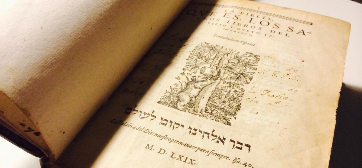 Biblia Niedźwiedzia z 1569 r.