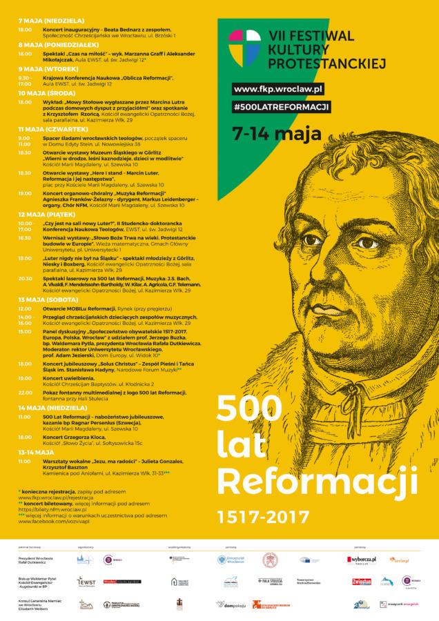 VII Festiwal Kultury Protestanckiej