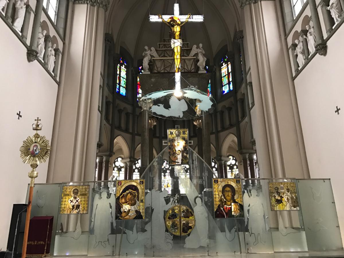 kościół św. Elżbiety w Lwowie obrządku ukraińsko-bizantyjskiego