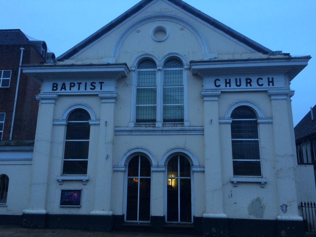 kościół baptystów w Winchester (UK)