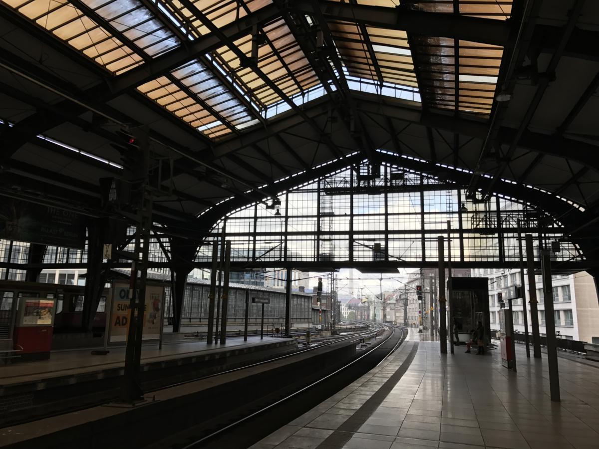 dworzec Friedrichstrasse w Berlinie