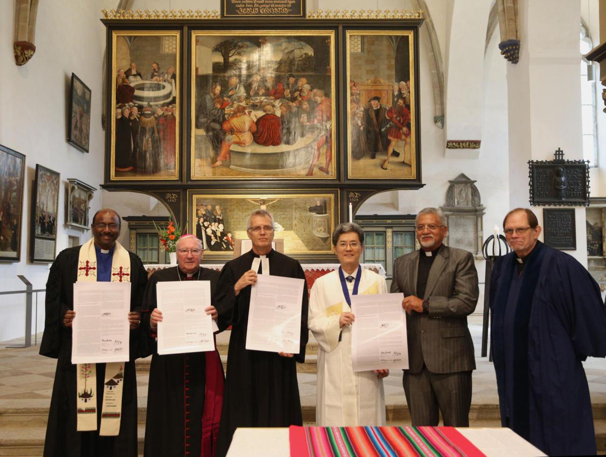 podpisanie Wspólnej deklaracji o usprawiedliwieniu