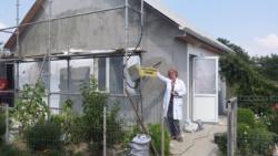 Remontowany ośrodek zdrowia we wsi Flaminda