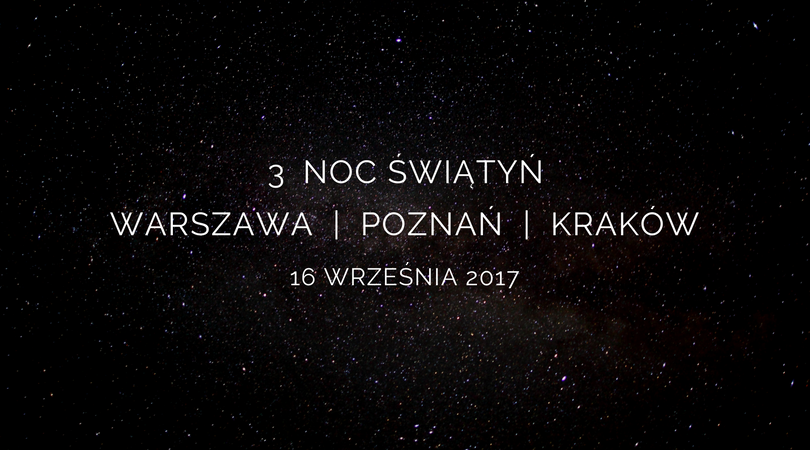 Noc Świątyń 2017