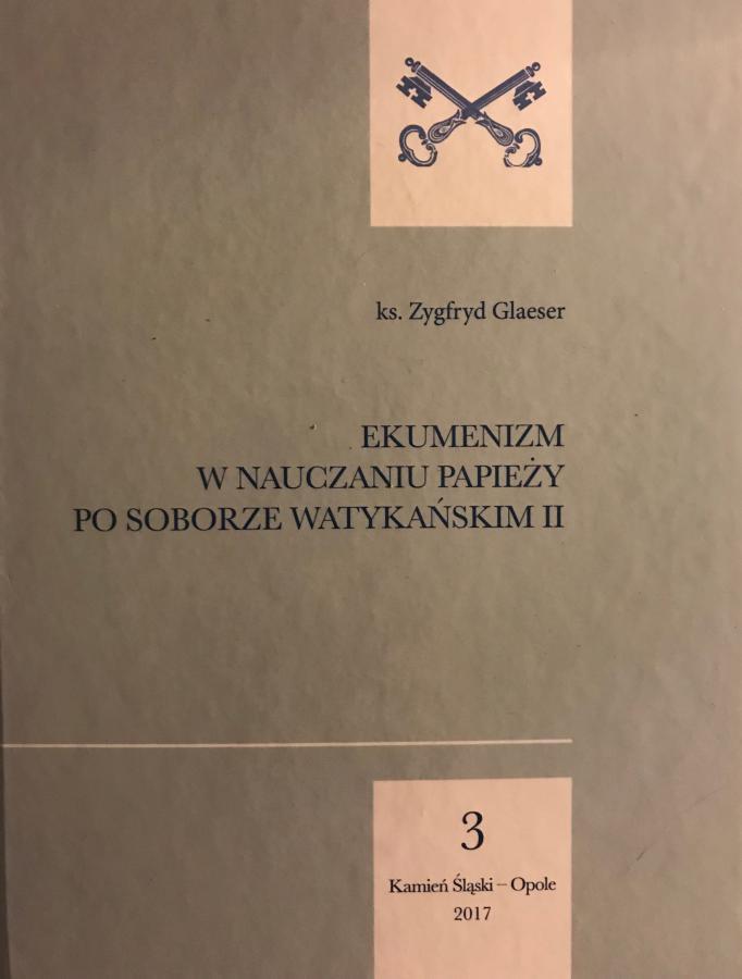 Ekumenizm w nauczaniu papieży po Soborze Watykańskim II