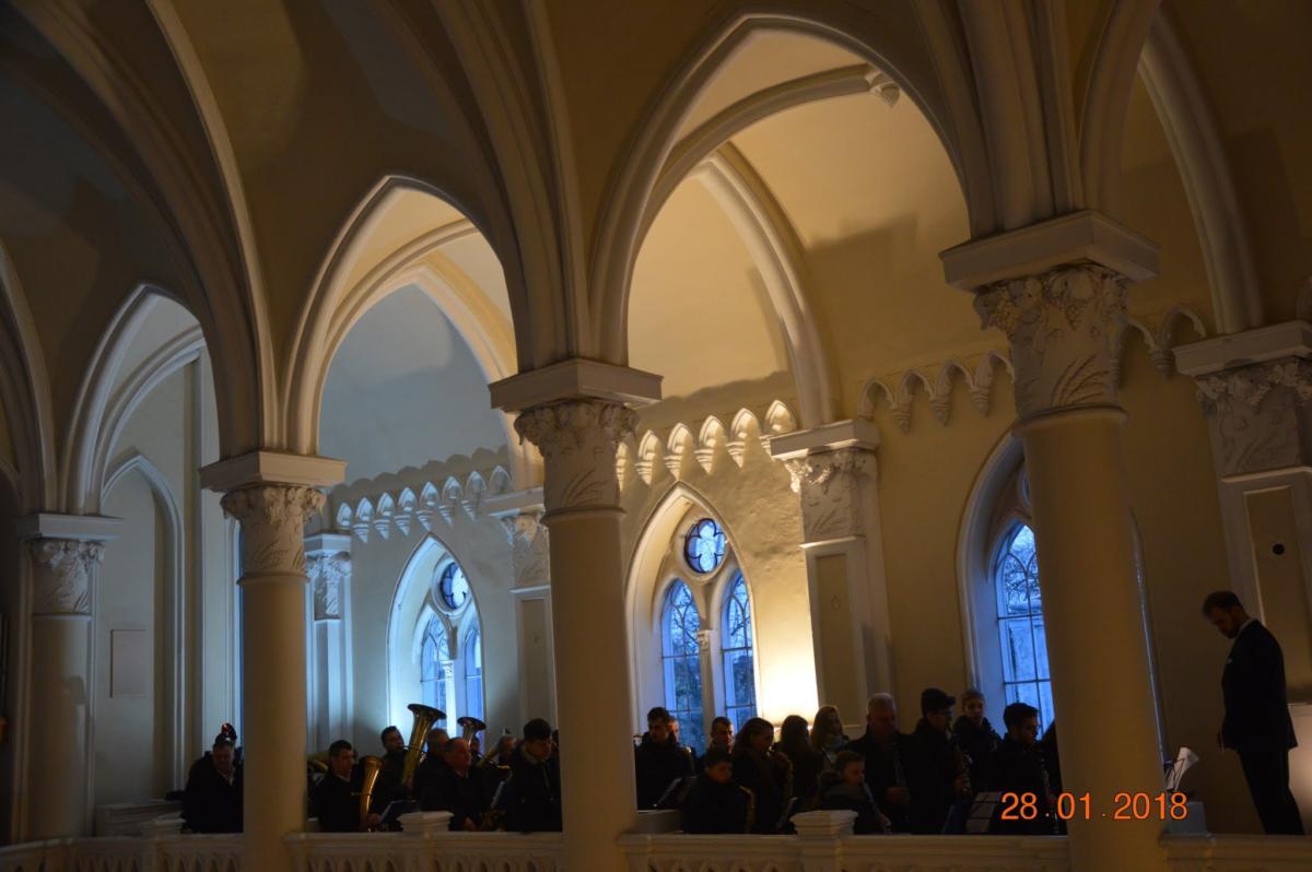 orkiestra dęta z mariawickiej parafii w Lipce