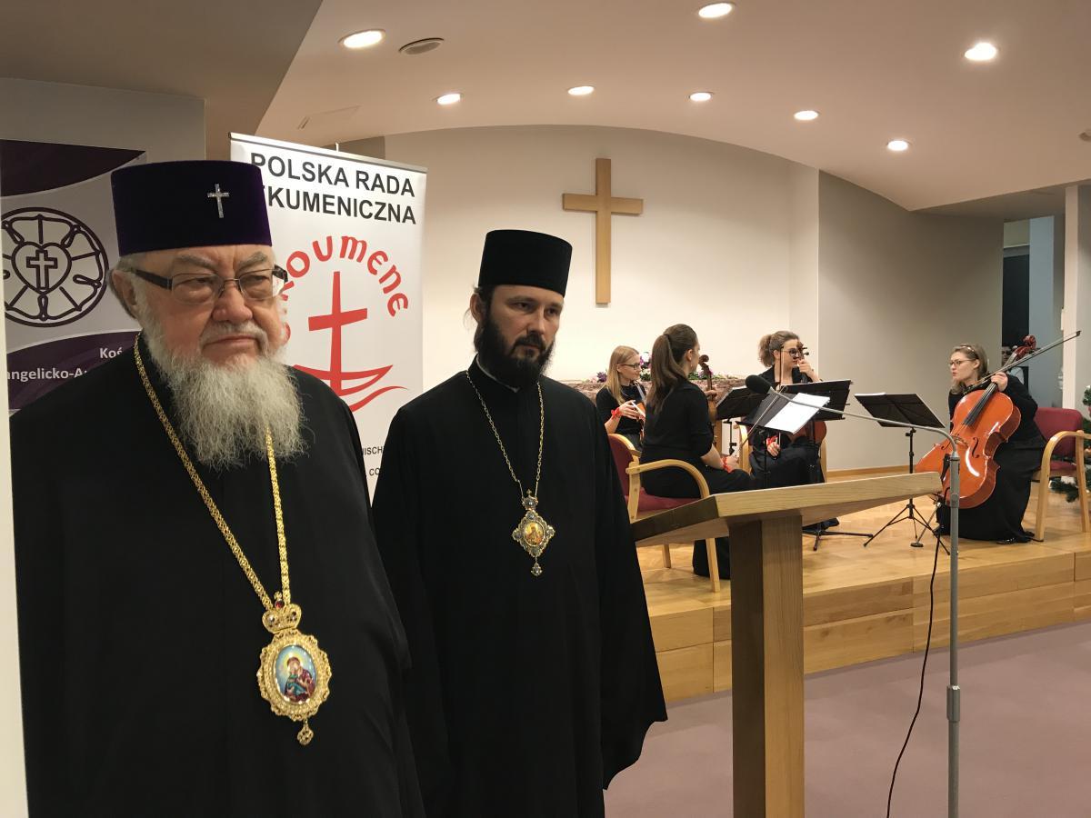 metropolita Sawa i bp hajnowski Paweł