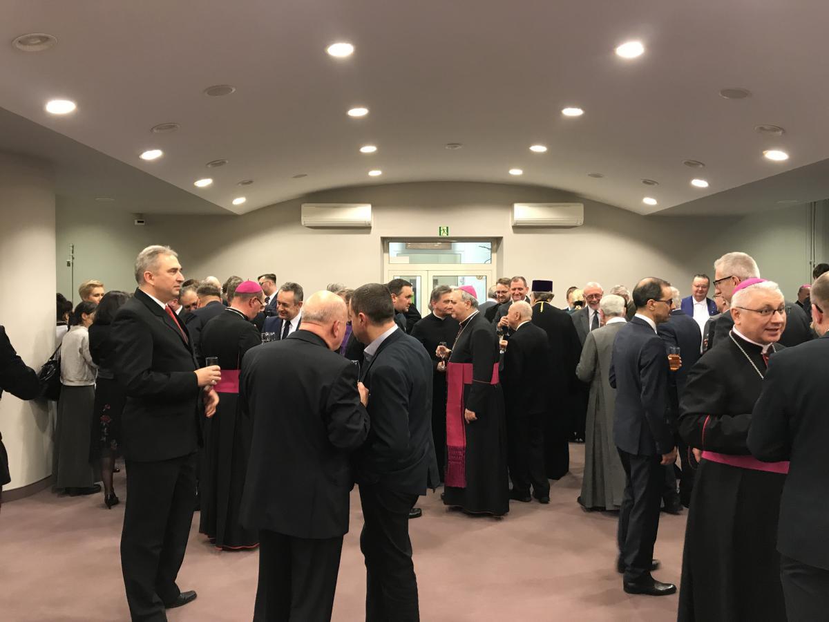 uczestnicy Ekumenicznego Spotkania Noworocznego
