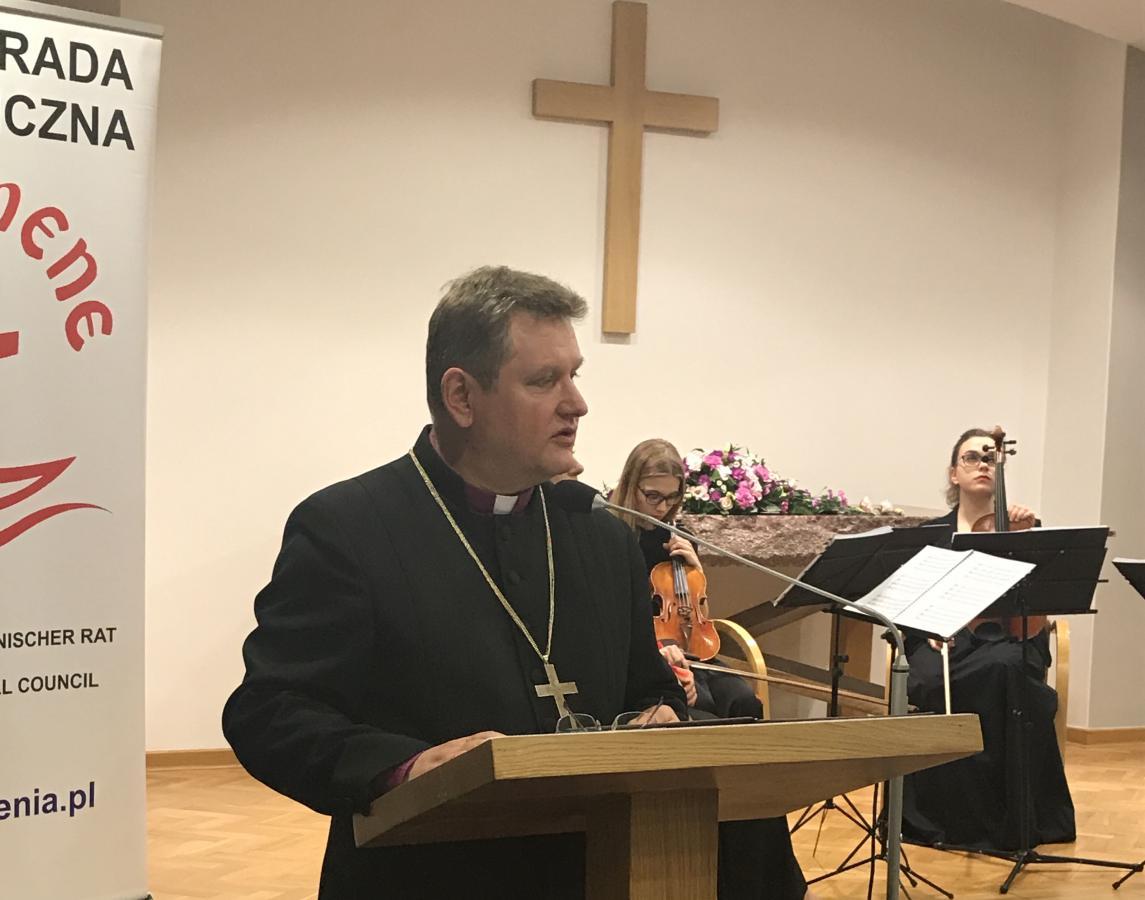 bp Jerzy Samiec, prezes PRE