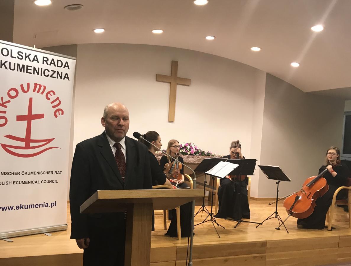 dyrektor Andrzej Rudlicki, przedstawiciel Ministerstwa Spraw Wewnętrznych i Administracji