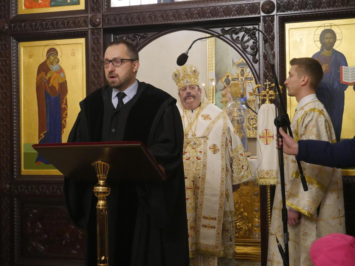pastor dr Mateusz Wichary (Kościół Chrześcijan Baptystów)