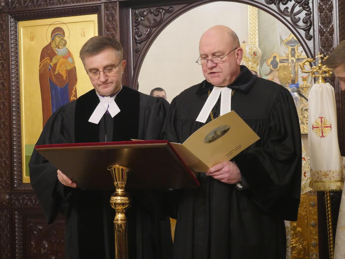 bp Andrzej Malicki (metodysta) i bp Marek Izdebski (reformowany)