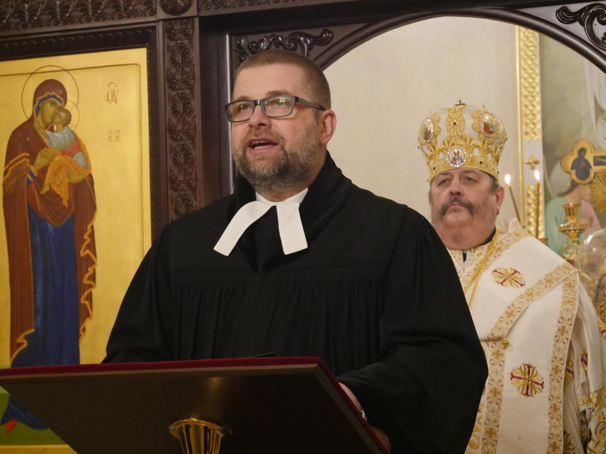 ks. dr Grzegorz Giemza, dyrektor Biura Polskiej Rady Ekumenicznej